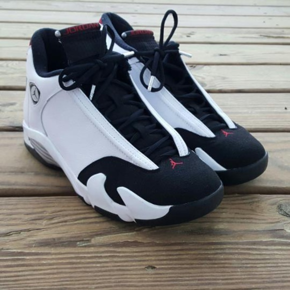 "cb4c41a59f7110 Jordan Other - Air Jordan 14 Retro ""Black Toe"